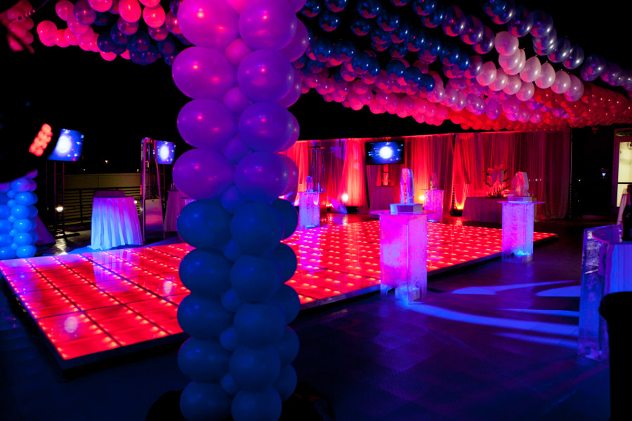 Lighting A Corporate Event Party In Scottsdale Arizona