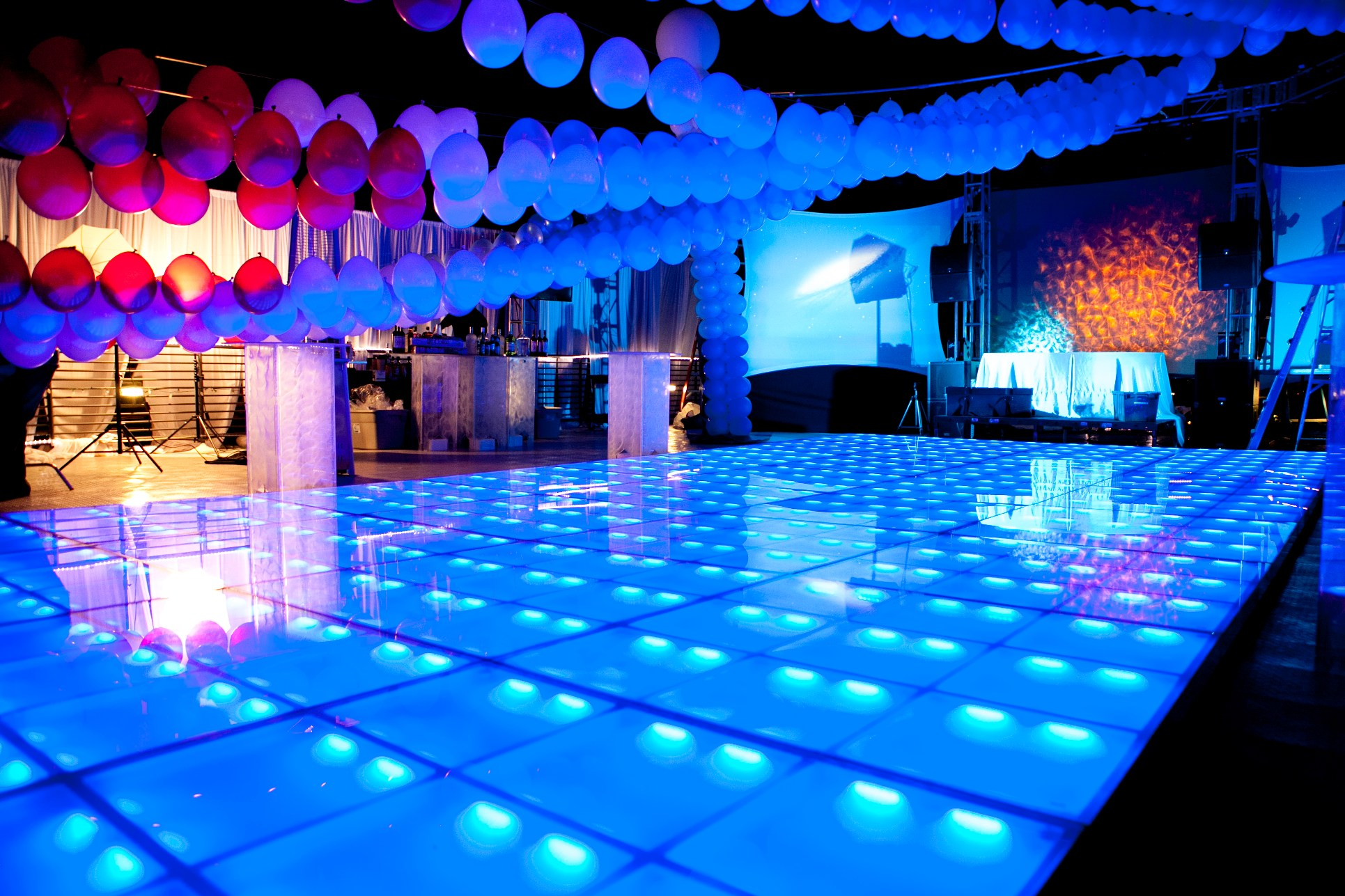 Led Dance Floor In Arizona Illuminations Party